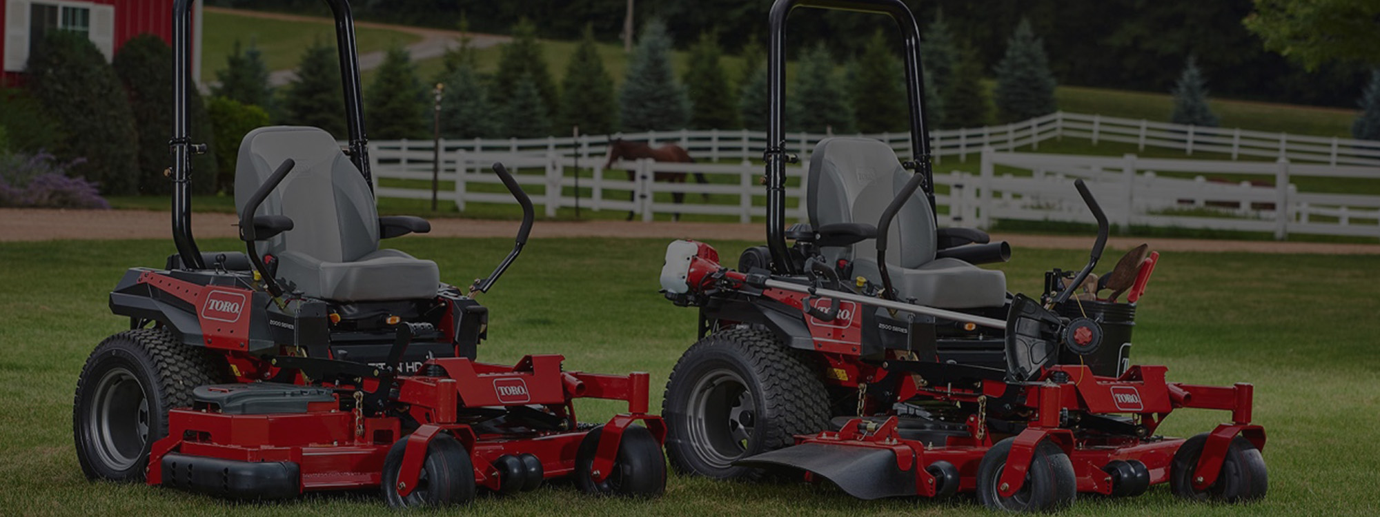Toro Titan HD commercial zero turn mowers